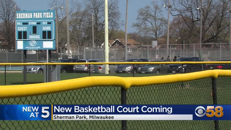 Sherman Park to get state-of-the-art basketball court thanks...